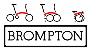 Brompton Logos B&W on top